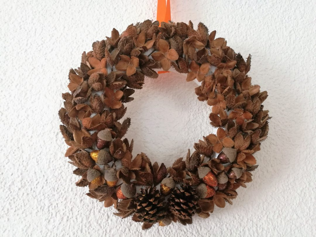 Beechnut fall wreath - Our Swiss experience