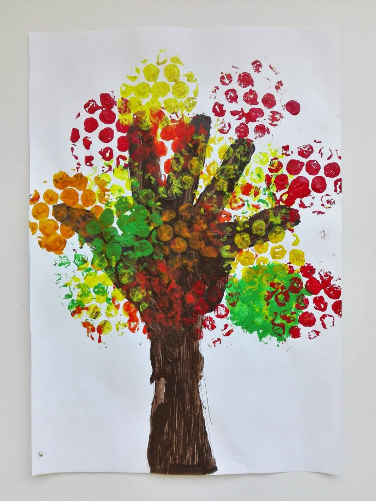fall craft ideas 5 handprint colorful fall trees ideas our swiss experience 1978